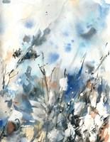 Blue Hoo Fine Art Print
