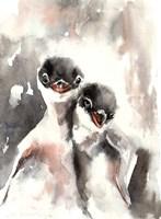 Little Penguins Fine Art Print