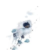 Contemporary Cool Blue Fine Art Print