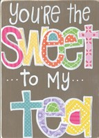 Sweet to My Tea Fine Art Print