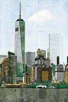 Lower Manhattan Skyline II Fine Art Print