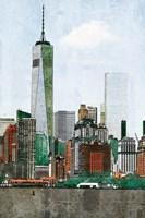 Lower Manhattan Skyline III Fine Art Print