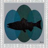 Salmon Framed Print