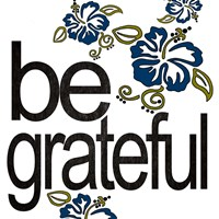 Be Grateful Fine Art Print