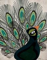 Peacock I Fine Art Print