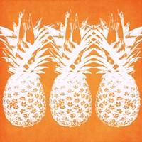 Orange Pineapples Fine Art Print