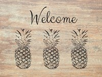 Welcome on Wood Fine Art Print