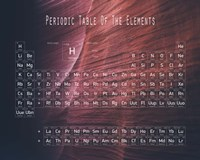 Periodic Table Canyon Wall Fine Art Print