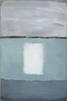 Azure Blue II Fine Art Print