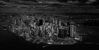 Manhattan - Bird's Eye View Fine Art Print