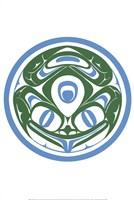 Haida Frog Fine Art Print