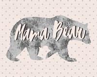 Mama Bear Silhouette Fine Art Print