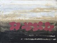 Stenciled Posies IV Fine Art Print