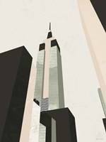 Graphic New York I Fine Art Print