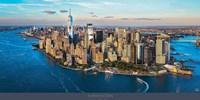New York between Sky & Sea Fine Art Print