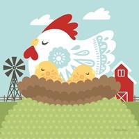 Little Farm II Fine Art Print