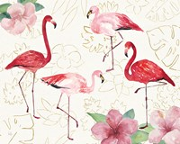 Tropical Fun Bird VIII Fine Art Print