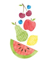 Funky Fruit II Fine Art Print