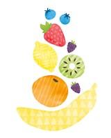 Funky Fruit I Fine Art Print