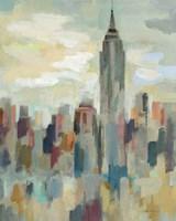 New York Impression Framed Print