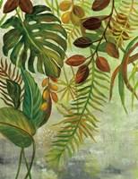 Tropical Greenery I Fine Art Print