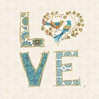 Love Tales IV Framed Print