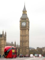 Big Ben Bus Fine Art Print