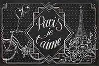 Vive Paris III Framed Print