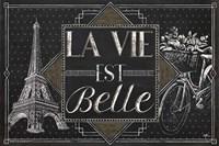 Vive Paris II Fine Art Print