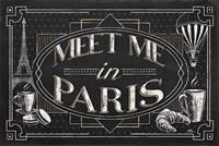 Vive Paris IV Framed Print