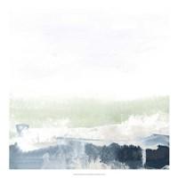 Seafoam Horizon I Fine Art Print