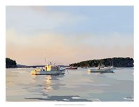 Peaceful Harbor I Fine Art Print