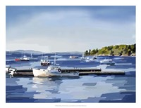 Peaceful Harbor II Fine Art Print
