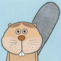 Super Animal - Beaver Fine Art Print