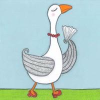 Super Animal - Goose Fine Art Print