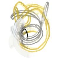 String Orbit I Framed Print