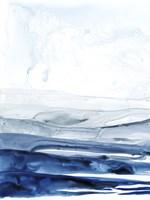 Azure Arctic I Framed Print