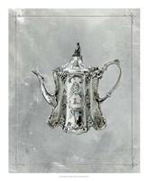English Silver II Framed Print