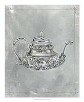 English Silver III Framed Print