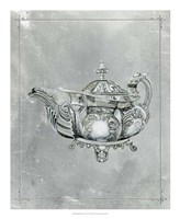 English Silver IV Framed Print