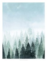 Into the Trees I Fine Art Print