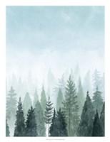 Into the Trees II Fine Art Print