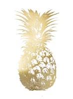 Gold Foil Pineapple I Fine Art Print