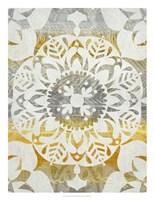 Tapestry Rosette II Fine Art Print