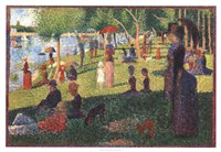A Sunday on La Grande Jatte Fine Art Print