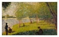 Study for a Sunday on La Grande Jatte Fine Art Print