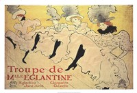 La Troupe de Mademoiselle Eglantine Fine Art Print