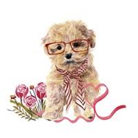 Valentine Puppy II Fine Art Print