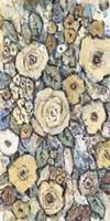 Decorative Flowers I Framed Print