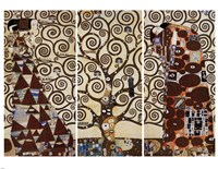 Tree of Life  (triptych), 1909 by Gustav Klimt, 1909 - various sizes
